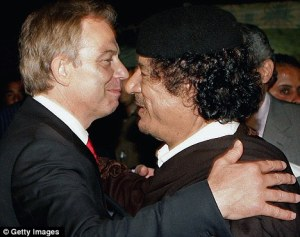 Blair in Libya