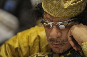 Gaddafi. (Photo: izismile.com)