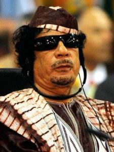Gaddafi sunglasses