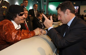 Gaddafi France