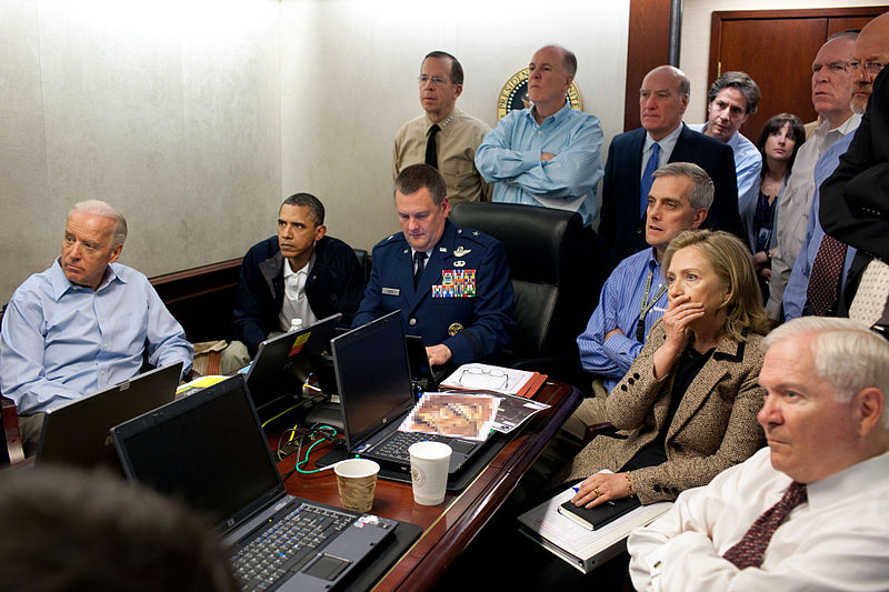 White House Situation Room Photo Fake