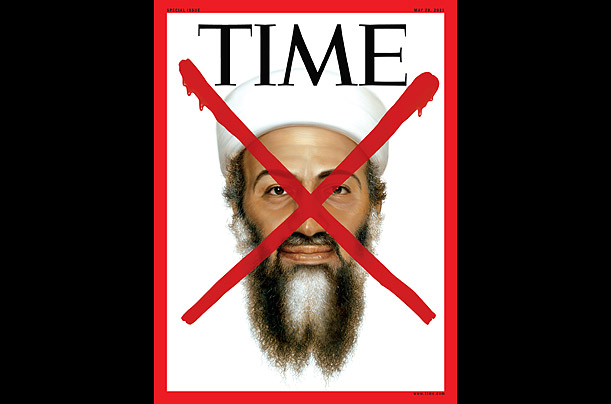 Time magazine cover bin laden
