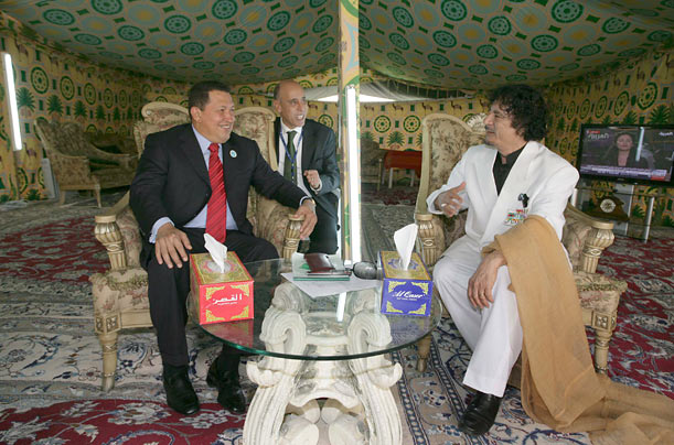 Chavez Gaddafi