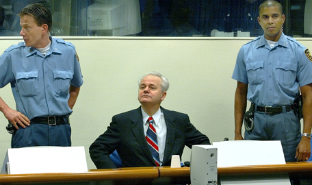 Milosevic at the ICTY
