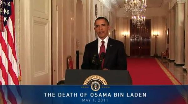 Obama on Osama