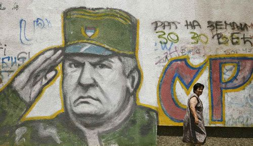 Mladic graffiti