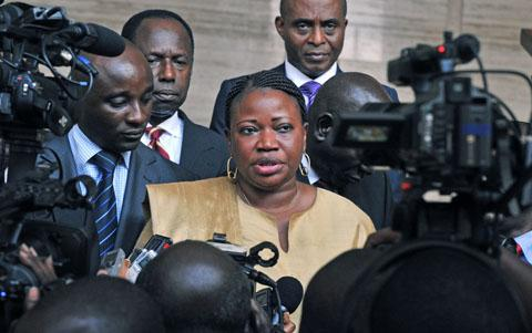 Bensouda in Ivory Coast