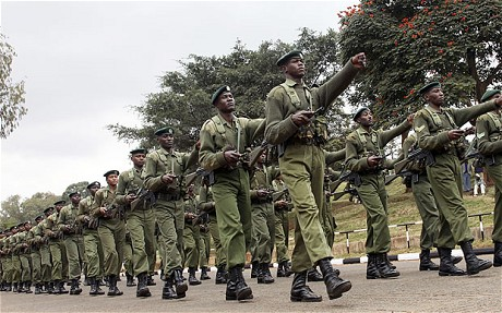Kenyan troops entered Somalia last week (Photo: AP)