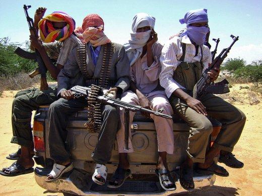 al-Shabaab troops