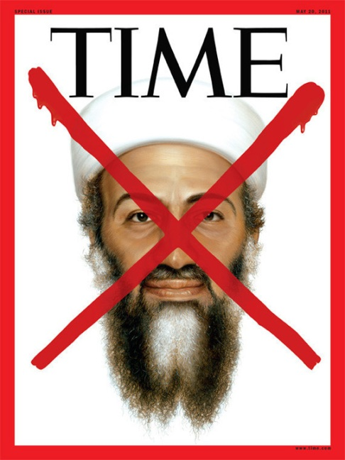 Times Osama bin Laden cover