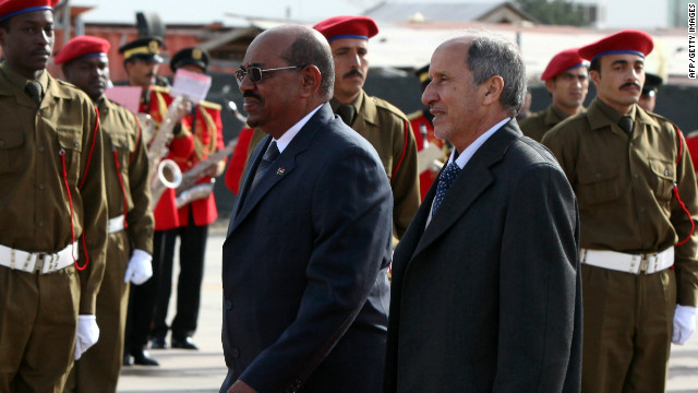 Bashir in Libya