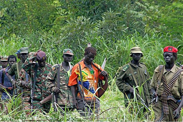 LRA combatants
