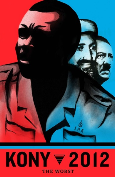 cartel kony 2012 vía unationblog.com