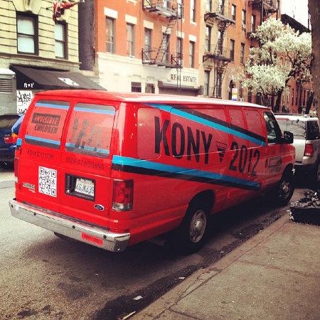 KONY2012 van