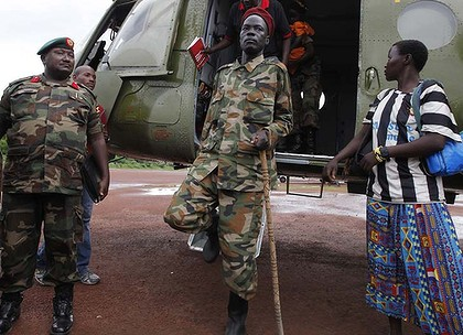 LRA commander captured