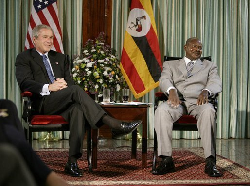 Museveni and US