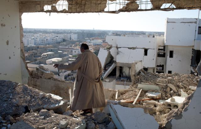 NATO bombing in Libya