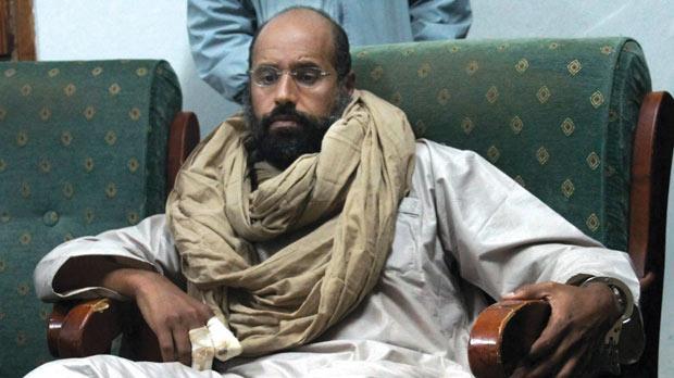 Saif Gaddafi Zintan