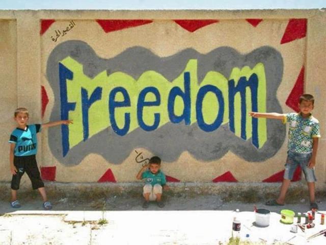 Homs graffiti