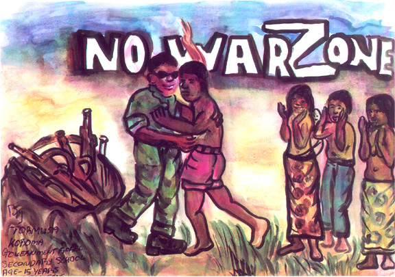 No War Zone Tormusa Koroma, Sierra Leone