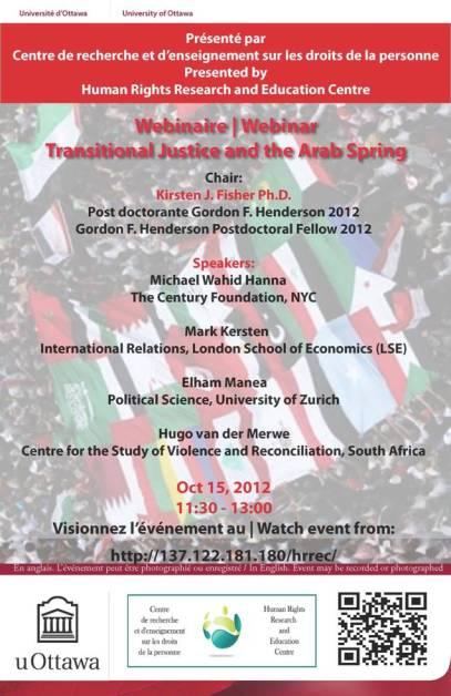 Transitional justice Arab Spring
