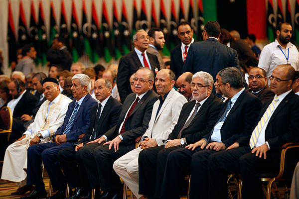 Members of Libya's General National Council (Photo: Ismail Zitouny/Reuters)