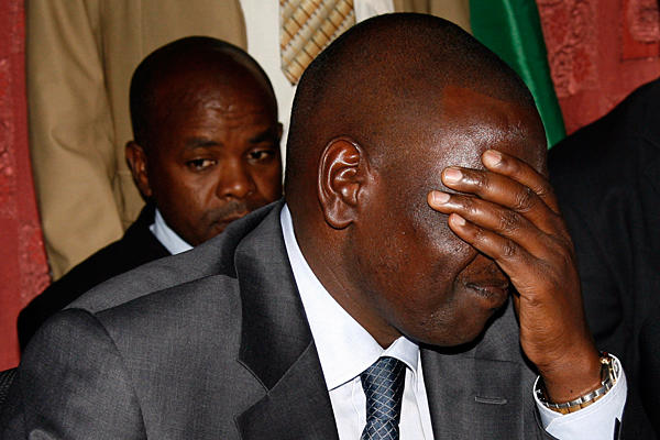 William Ruto during a press conference in December 2010 (Photo: Reuters)