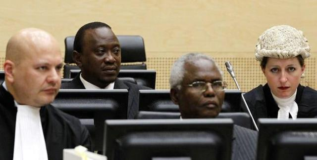 Uhuru Kenyatta during hearings at the ICC (Photo: ICC)