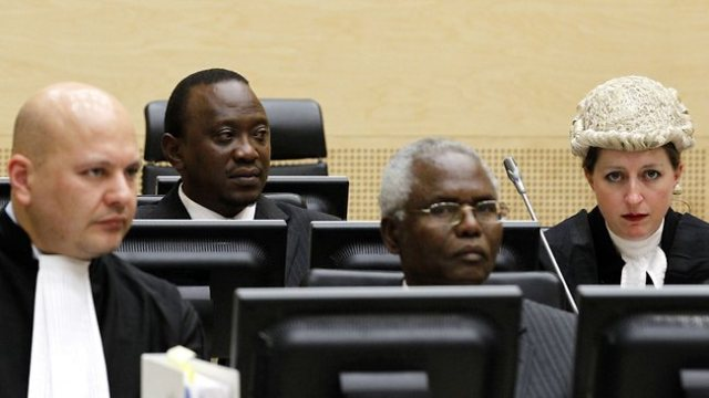 Kenyatta at the ICC (Photo: ICC)