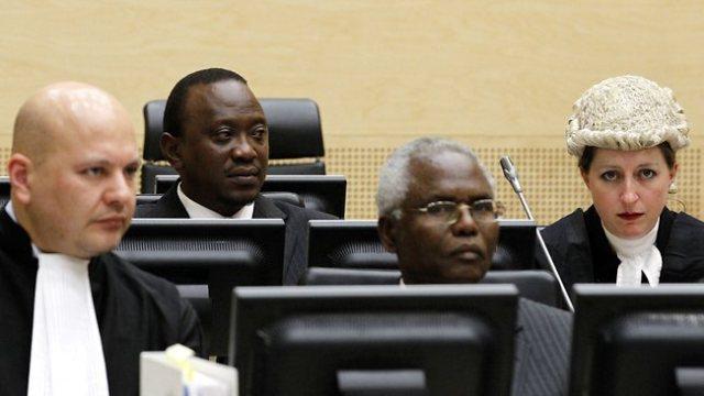 Kenyatta at the ICC (Photo: ICC)