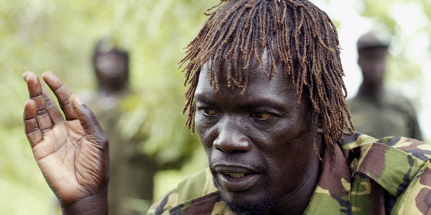 Caesar Acellam speaking to media in South Sudan in 2006 (Photo: Reuters)