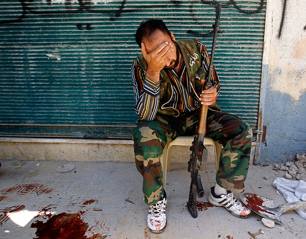 A Free Syrian Army Fighter (Photo: Goran Tomasevic/Reuters)