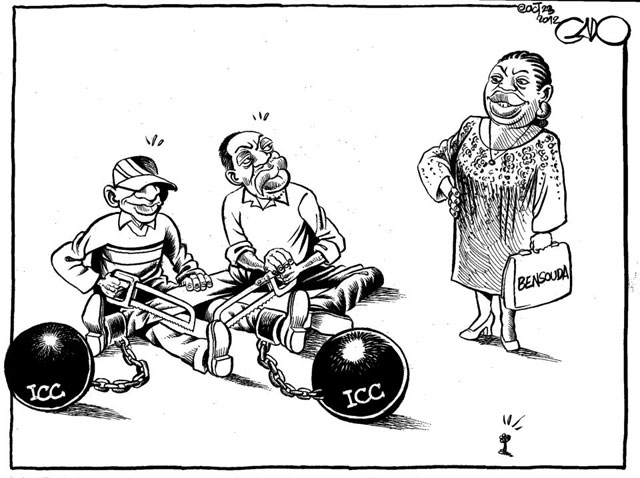 (Cartoon: Gado)