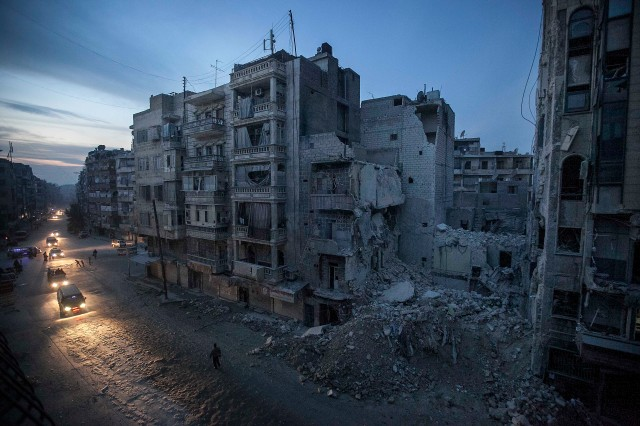 Aleppo, November 2012. (Photo: AP / Narciso Contreras)