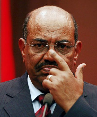 Omar al-Bashir - thumbing his nose at the US and the UN?