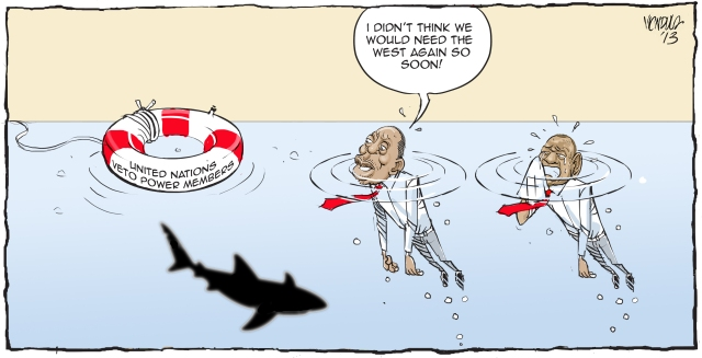 (Cartoon: Esther Wandia, The Star)