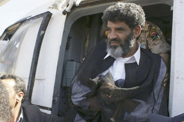 Abdullah al-Senussi (Photo: Reuters)