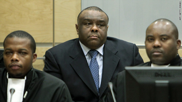 Bemba on trial at the ICC (Photo: ICC)