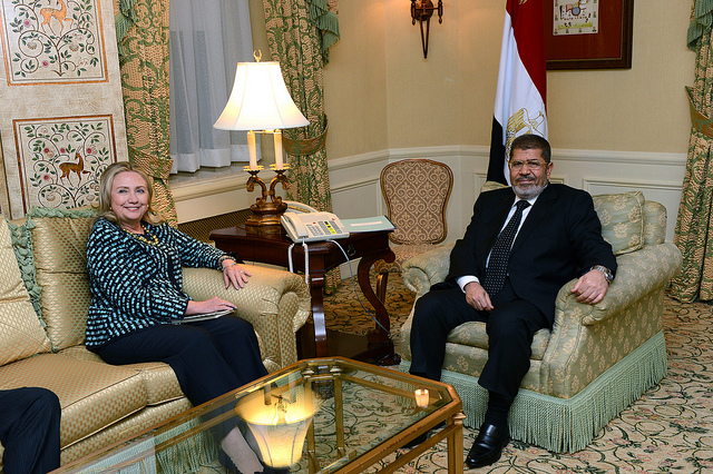 Morsi former US Secretary of State Hilary Clinton (Photo: Flickr)