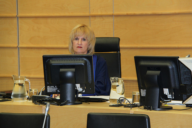 Judge Christine Van den Wyngaert (Photo: ICC)