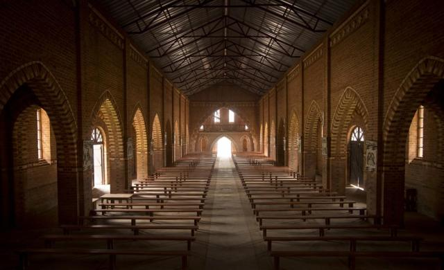 This church, in the village of Nyarubuye, now serves as a memorial (Photo: Ben Curtis / AP)