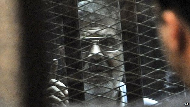 Mohamed Morsi is currently on trial. He faces allegations of inciting the killing of protesters near the presidential palace in 2012. (Photo: AP)