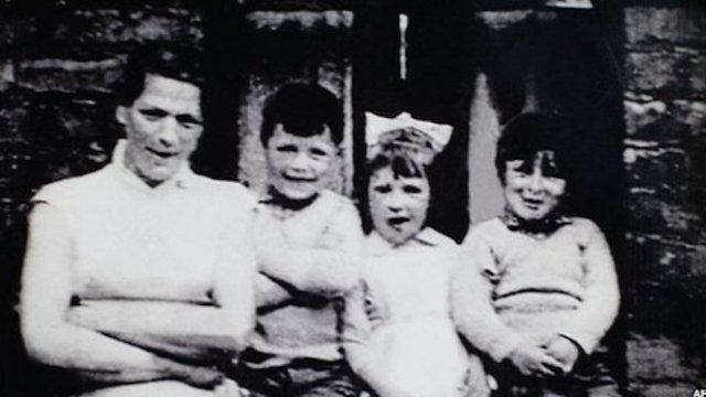 Jean McConville and three of her ten children.
