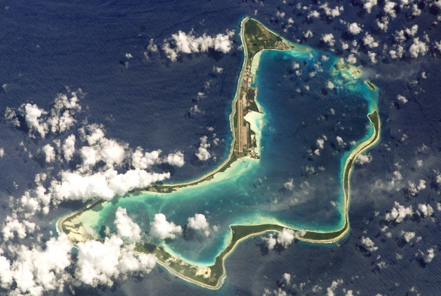 Diego Garcia and the Chagos Islands (Photo: NASA)