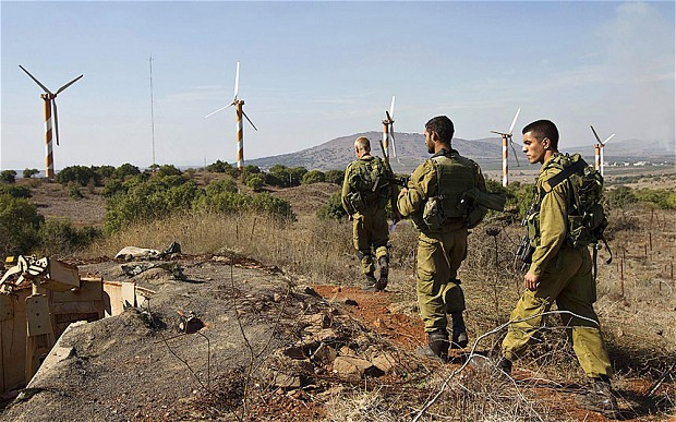 Israeli soldiers in the Golan Heights (Photo: CNN, Pablo Tosco/AFP/Getty Images)