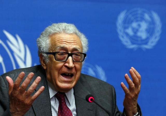 Lakhdar Brahimi recently resigned from his post as U.N.-Arab League envoy for Syria (Photo: Balibouse / Reuters)