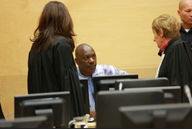Lubanga attending his Appeal Chamber ruling (Photo: ICC)