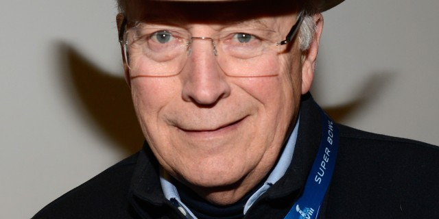 Former US Vice President Dick Cheney. The kind of official who would benefit from Stephen Rademaker's proposal (Photo: Kevin Mazur via Getty Images)