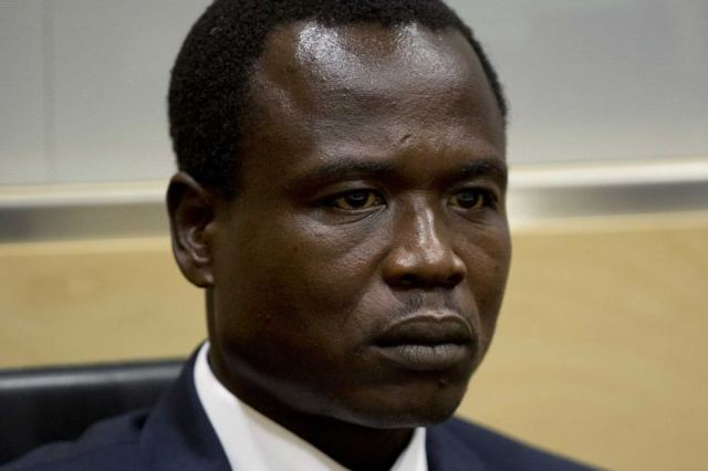 Dominic Ongwen during pre-trial proceedings at the ICC (Photo: ICC)