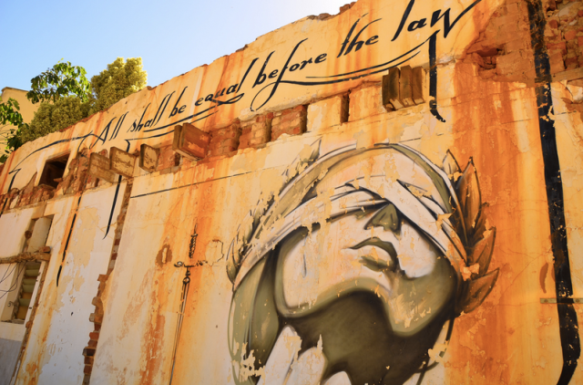 Graffiti in Cape Town, South Africa (Photo: Ben Sutherland / Flickr)